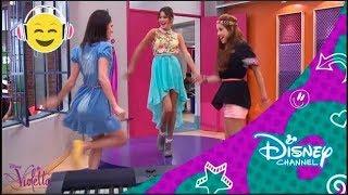getlinkyoutube.com-Disney Channel España | Videoclip Violetta - Código Amistad