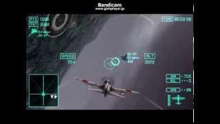 getlinkyoutube.com-psp エースコンバットX2 ゼロ戦で核ミサイルサイロ制圧(難易度ACE)