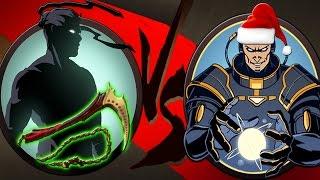 getlinkyoutube.com-Shadow Fight 2 НОВОГОДНИЙ ТИТАН ПУТЬ ТЕНИ НА ЗАТМЕНИИ #7