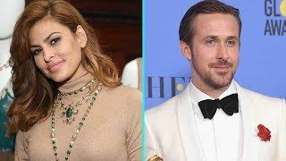 flushyoutube.com-Eva Mendes Coyly Responds to Ryan Gosling's Sweet Golden Globe Award Dedication