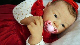 getlinkyoutube.com-Reborn baby Mía // Bebé Reborn Mía por Chiquitines Reborns