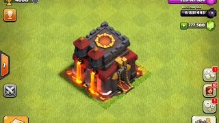 getlinkyoutube.com-Clash of Clans Gemming From TH1 To MAX TH10 1.1 Million Gems (Private Server) 2015