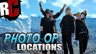 getlinkyoutube.com-Final Fantasy XV - All Photo Op Locations (FFXV Photo Op / Fotoshooting Locations)