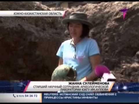 Клад серебряных монет нашли в Казахстане
