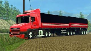 getlinkyoutube.com-Farming Simulator 2015 - Caminhão Scania 124 PT-BR