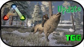 Ark:Survival Evolved   9/28/15 Swamp & Snow Biomes, Megaloceros, Direwolf, Beelzebufo (Ark Updates)