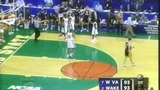 2005 NCAA Tournament - WVU vs Wake Forest - Highlights