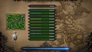 getlinkyoutube.com-Warcraft 3. 1 vs 11 insane computers (pt.1)