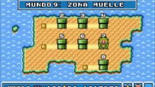 getlinkyoutube.com-Super Mario Advance 4: Super Mario Bros 3 - Mundo 9: Zona Muelle (Trucos y Secretos)
