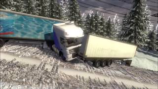 "getlinkyoutube.com-Euro Truck Simulator 2 Unfallbilder ""Crash'n'fail"""