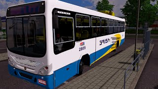 getlinkyoutube.com-Euro Truck 2 Brasil: Viajando de ônibus - Onibus urbano