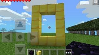 getlinkyoutube.com-Minecraft PE 0.8.1 Mod Script- Portal Al Mundo Del Oro :D!!
