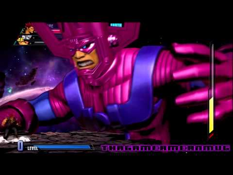 Marvel vs. Capcom 3 - Galactus Battle (Akuma, Ryu, Zero)