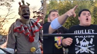 getlinkyoutube.com-FINAL CLOWN UNMASKED! 2 CHAMPIONSHIP WRESTLING MATCHES AT THE SAME TIME!