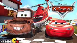 getlinkyoutube.com-Disney Pixar Cars Fast as Lightning McQueen - The Fast of The Fast Disney Cars