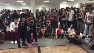 getlinkyoutube.com-Last Man Standing Dance Battle featuring BGirl Eddie and BGirl Terra Dance Showcase