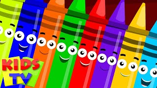 getlinkyoutube.com-ten in the bed | crayons color song | learn colors | nursery rhyme | childrens rhymes