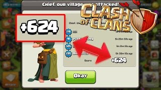 "getlinkyoutube.com-""UPDATE 2016"" Best Town Hall 4 (Th4)- Trophy/War Base-Clash Of Clans (CoC)-"
