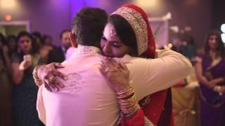 getlinkyoutube.com-Marina & Waqqas' Wedding Highlights