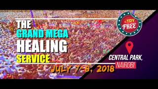 The Ministry Of Repentance And Holiness Welcomes You To A Super Healing Service Nairobi Central Park