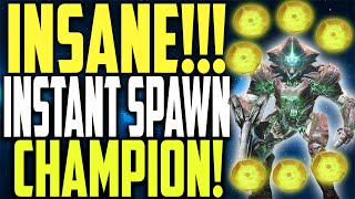 INSANE EXOTIC ENGRAM FARM !! INSTANT SPAWNING CHAMPIONS !! (Taken King) D