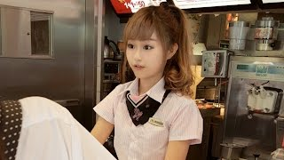 getlinkyoutube.com-Beautiful Taiwanese McDonald's Employee Becomes An Internet Celebrity  | What's Trending Now