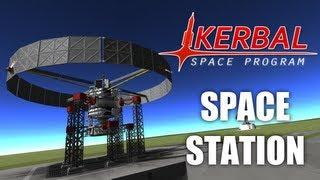 getlinkyoutube.com-Artificial Gravity Space Station (Kerbal Space Program)