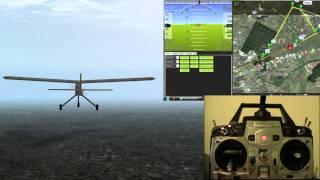 getlinkyoutube.com-Arduplane Simulation [Full]