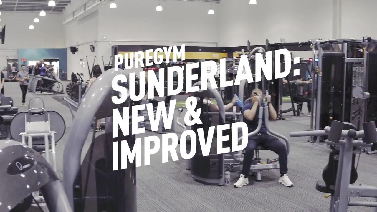 New and improved PureGym Sunderland