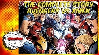 getlinkyoutube.com-Avengers VS X-Men - Complete Story