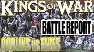 getlinkyoutube.com-Kings Of War Battle Report - Goblins vs Elves (2000pts)
