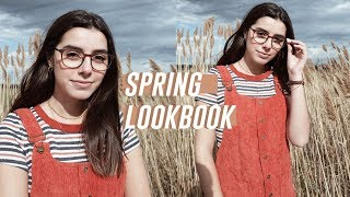 Trendy Spring Lookbook 2018 | ft. Glasses