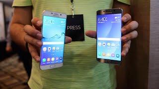 نظرة اولى على جهاز Samsung Galaxy Note 5 & Galaxy S6 Edge Plus