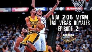 getlinkyoutube.com-NBA 2K16 PS4 Las Vegas MYGM - Debut Game! (EP.2)