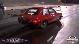 getlinkyoutube.com-Brianna Zoe (13B Toyota Starlet) 6.86 @203MPH World Record!!!!!