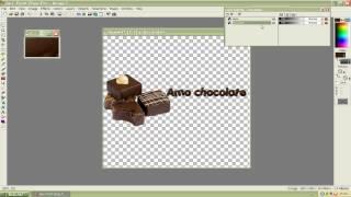 getlinkyoutube.com-PSP:Efeito chocolate escorrendo