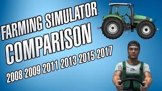 getlinkyoutube.com-Farming Simulator Comparision [2008, 2009, 2011, 2013, 15, 17]