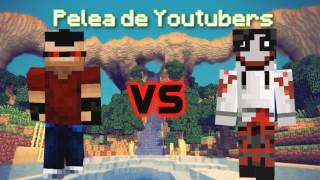 getlinkyoutube.com-Minecraft Animación || Pelea de Youtubers || ITownGameplay Vs DeiGamer