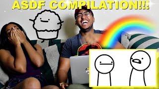 getlinkyoutube.com-Couple Reacts : asdfmovie 1-9 (Complete Collection) Reaction!!!