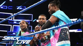 The New Day have strong words for The Shield: SmackDown LIVE, Nov. 14, 2017