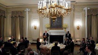 Donald Trump'ın Beyaz Saray'da ilk iftarı