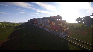getlinkyoutube.com-Minecraft Trains Mod - Verison V