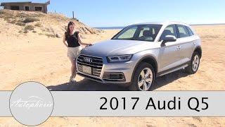 getlinkyoutube.com-2017 Audi Q5 2.0 TDI quattro ultra TEST / Onroad und Offroad Fahrbericht - Autophorie