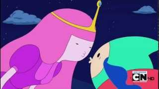 getlinkyoutube.com-Adventure Time - Finn and Princess Bubblegum Kissing HD