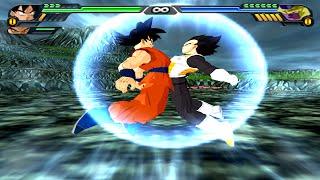 Goku and Vegeta Fukkatsu no F Fusion | Vegetto Fukkatsu no F | DBZ Tenkaichi 3 (MOD)