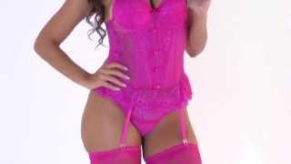 getlinkyoutube.com-Espartilho Suzy - Amore Brasil Lingerie