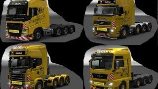 getlinkyoutube.com-ETS2 - Viking Heavy Hauler Pack