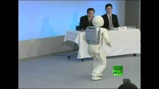 "getlinkyoutube.com-أذكى وأسرع روبوت من شركة ""هوندا"""