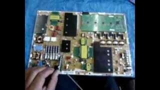 getlinkyoutube.com-TV de LED não liga. Veja como obrigar a fonte a ligar e fazer o conserto.
