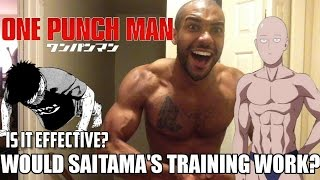 getlinkyoutube.com-Would One Punch Man Saitama's Fitness Training Actually Work?